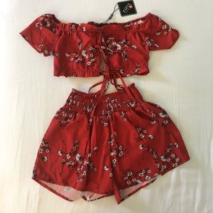 RED CO ORD